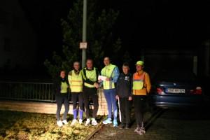 Spendenübergabe von der Running Abteilung des TSV 1862 Höchstadt/Aisch